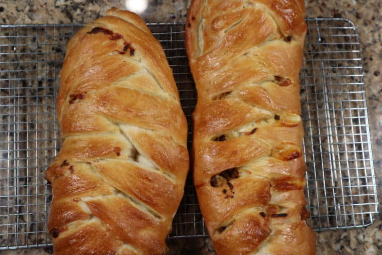 baked sausage bread
