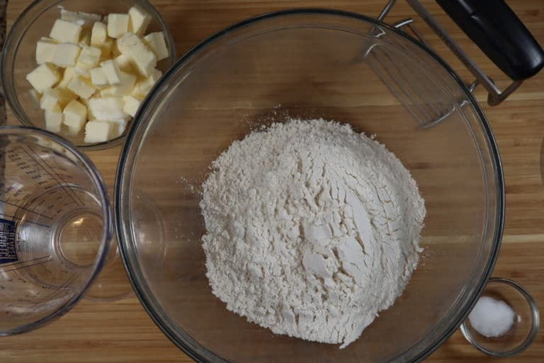 pie crust dough ingredients