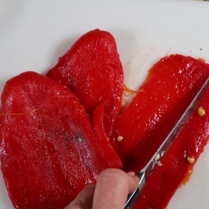 How to make Roasted Red Peppers