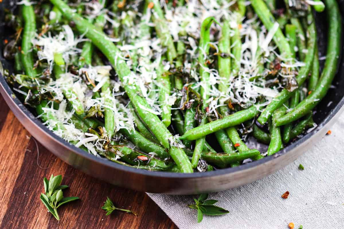 Green Beans Browned Butter – Italian