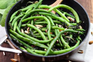 Green Beans with Sage Browned Butter