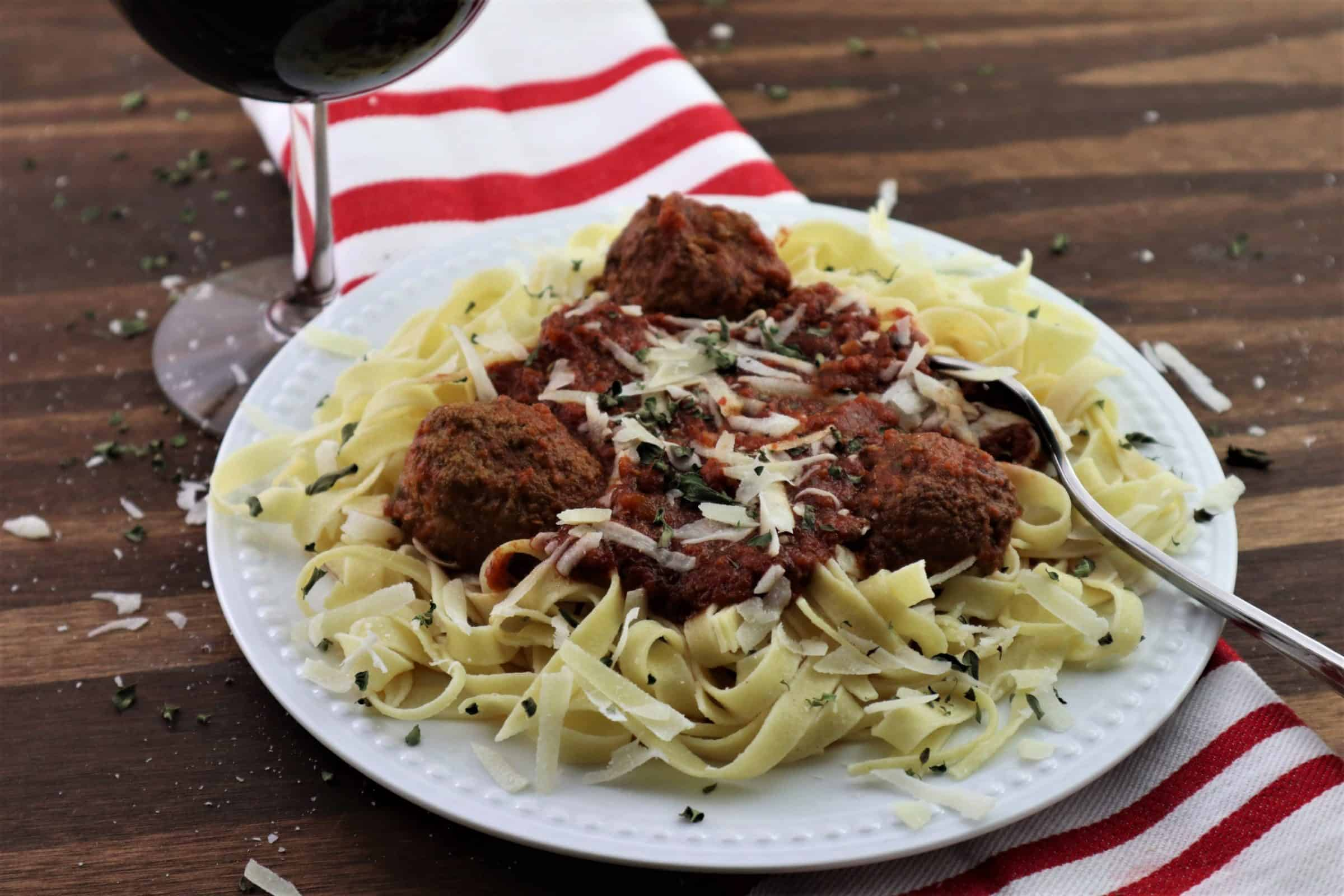 You are currently viewing Pasta Sauce with Meatballs