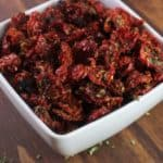 Sun-Dried Tomatoes – How to dry them.