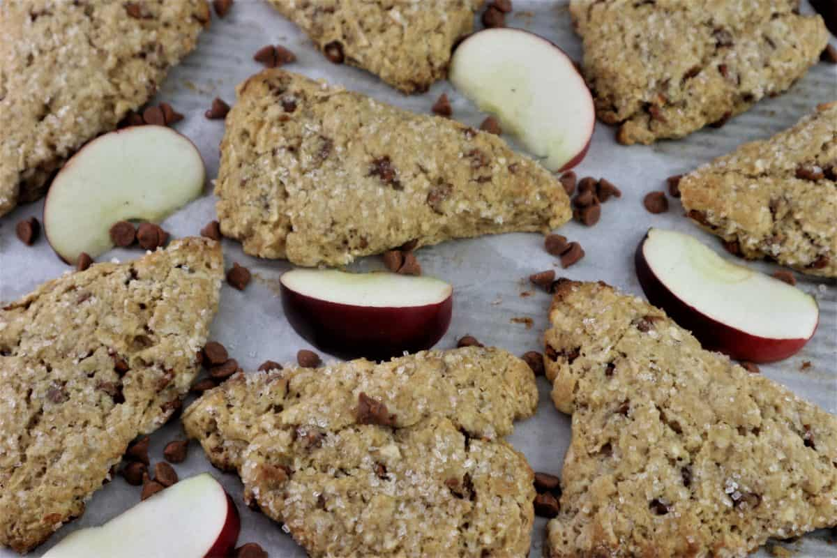 Fresh Apple Cinnamon Chip Scones