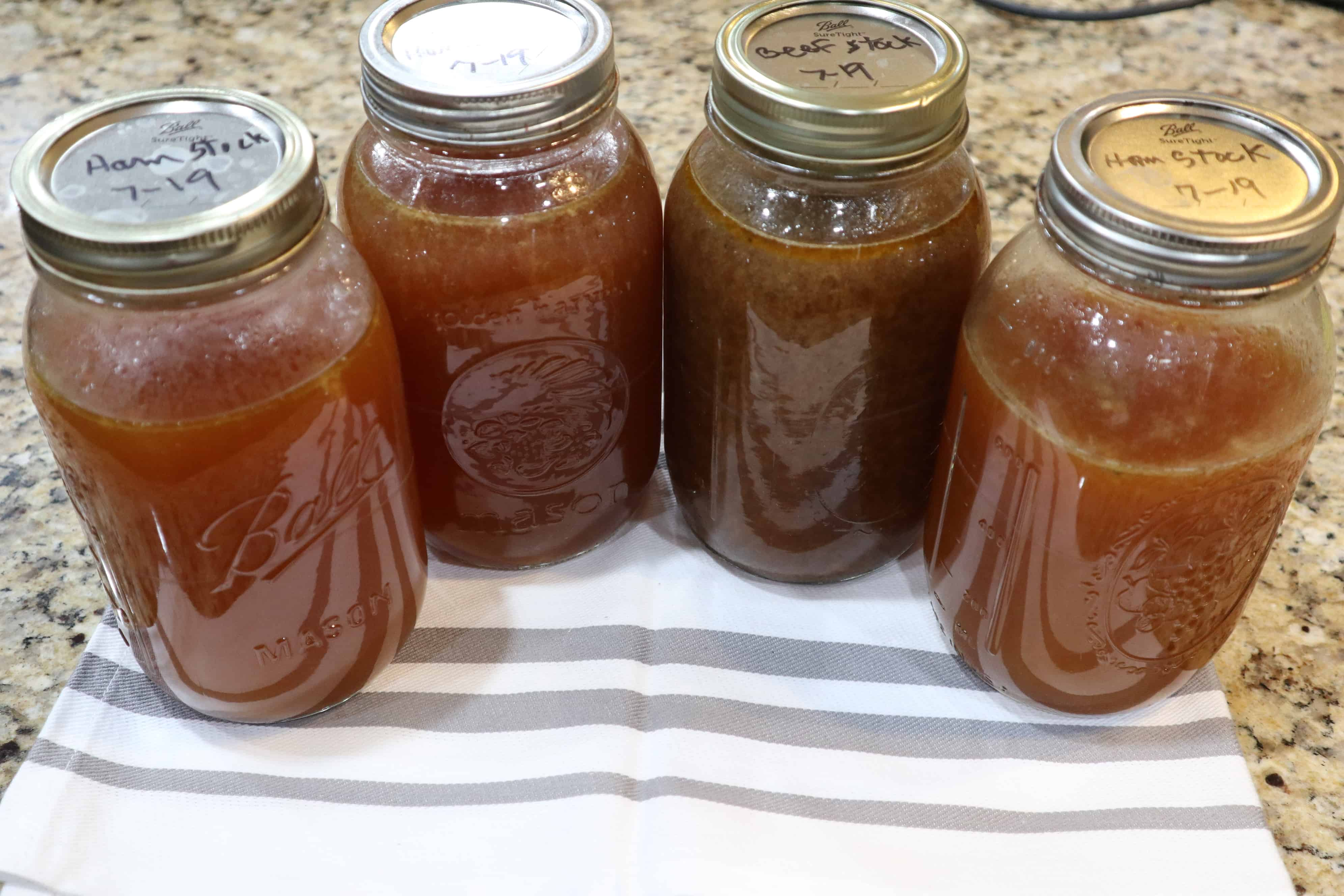 Vegetable or Meat Stock – Homemade From Scraps.