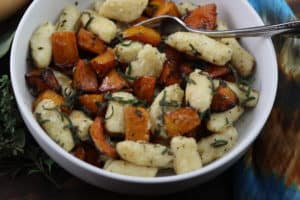 Homemade Gnocchi With Roasted Butternut Squash