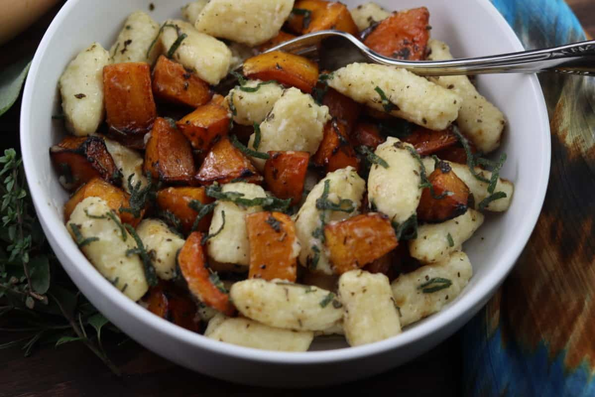 You are currently viewing Homemade Gnocchi With Roasted Butternut Squash