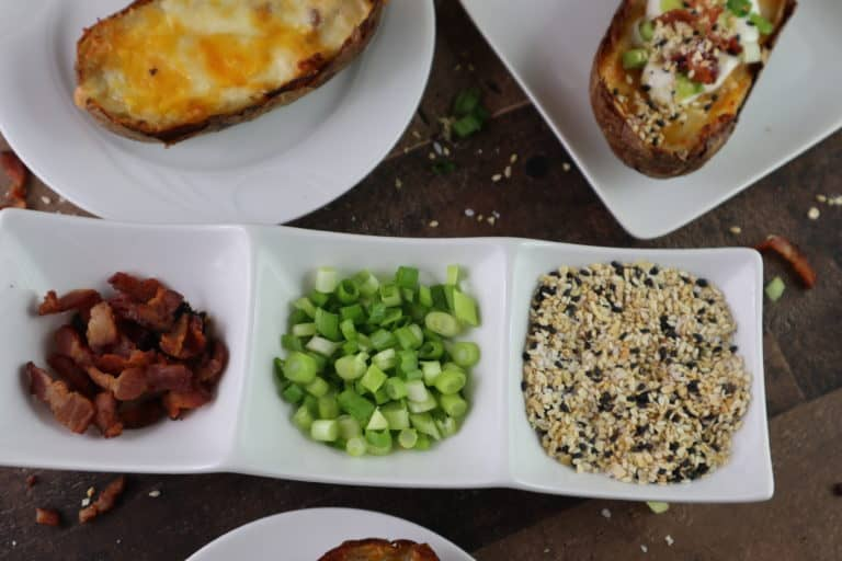 toppings for baked potato skins