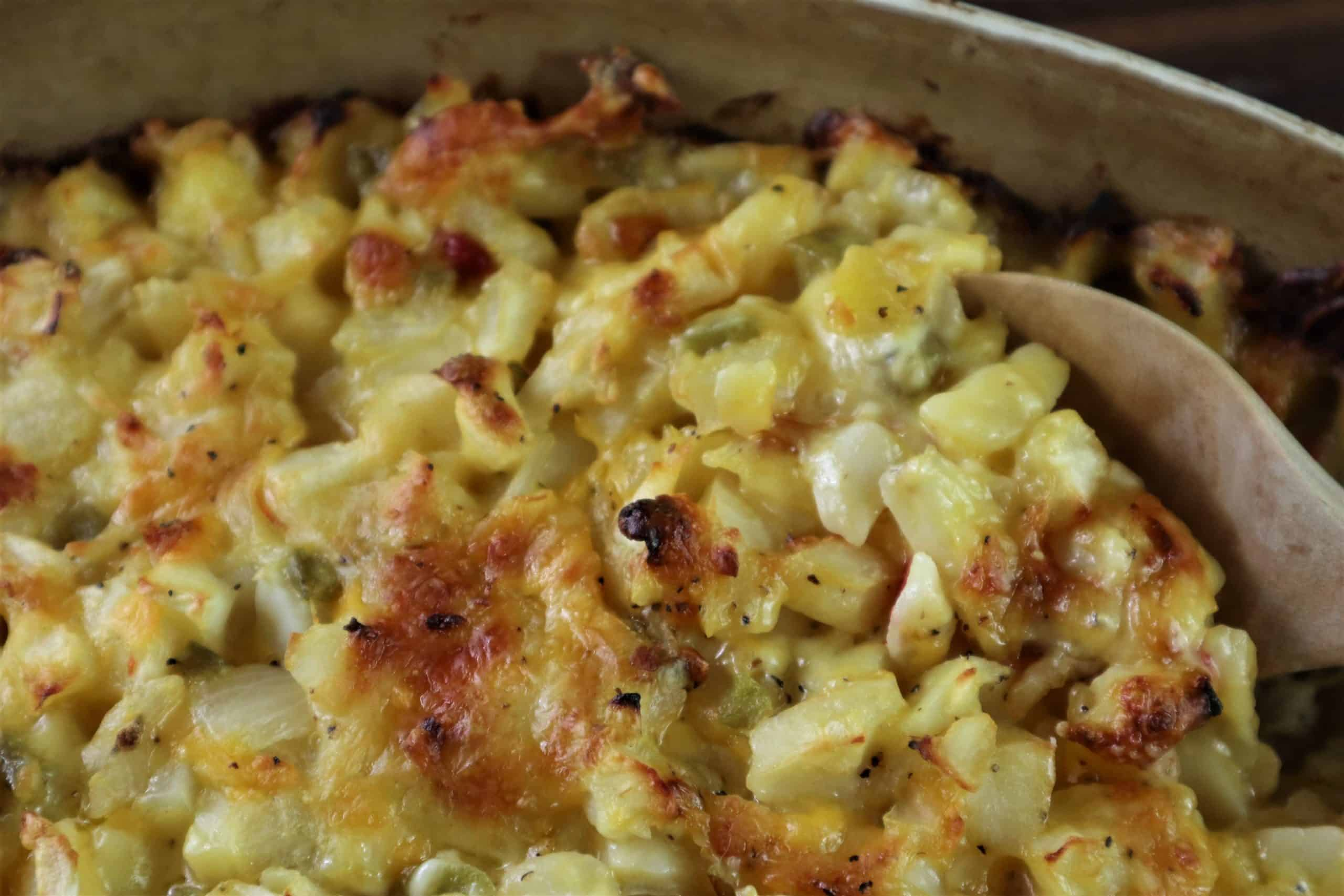 Hashbrown Casserole – Cheesy Potatoes