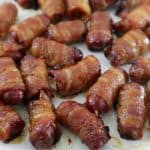 Bacon-Wrapped Mini Hotdog Appetizers
