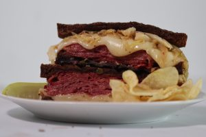 Reuben Sandwich with a Twist