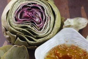 Artichokes – Instant Pot with Garlic Browned Butter