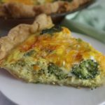 Broccoli Quiche – Vegetarian