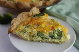 Read more about the article Broccoli Quiche – Vegetarian