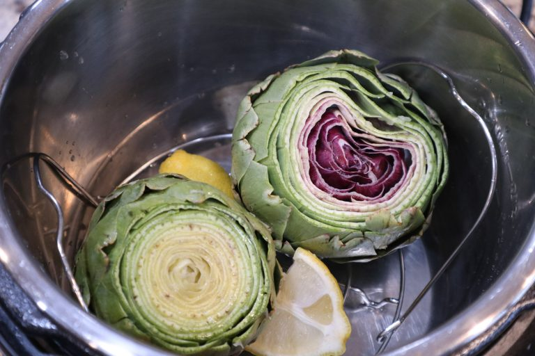 artichokes in an Instant Pot