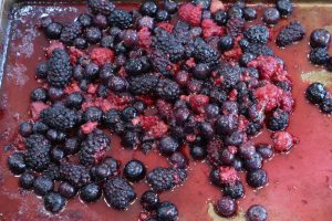 Sheet pan Berries
