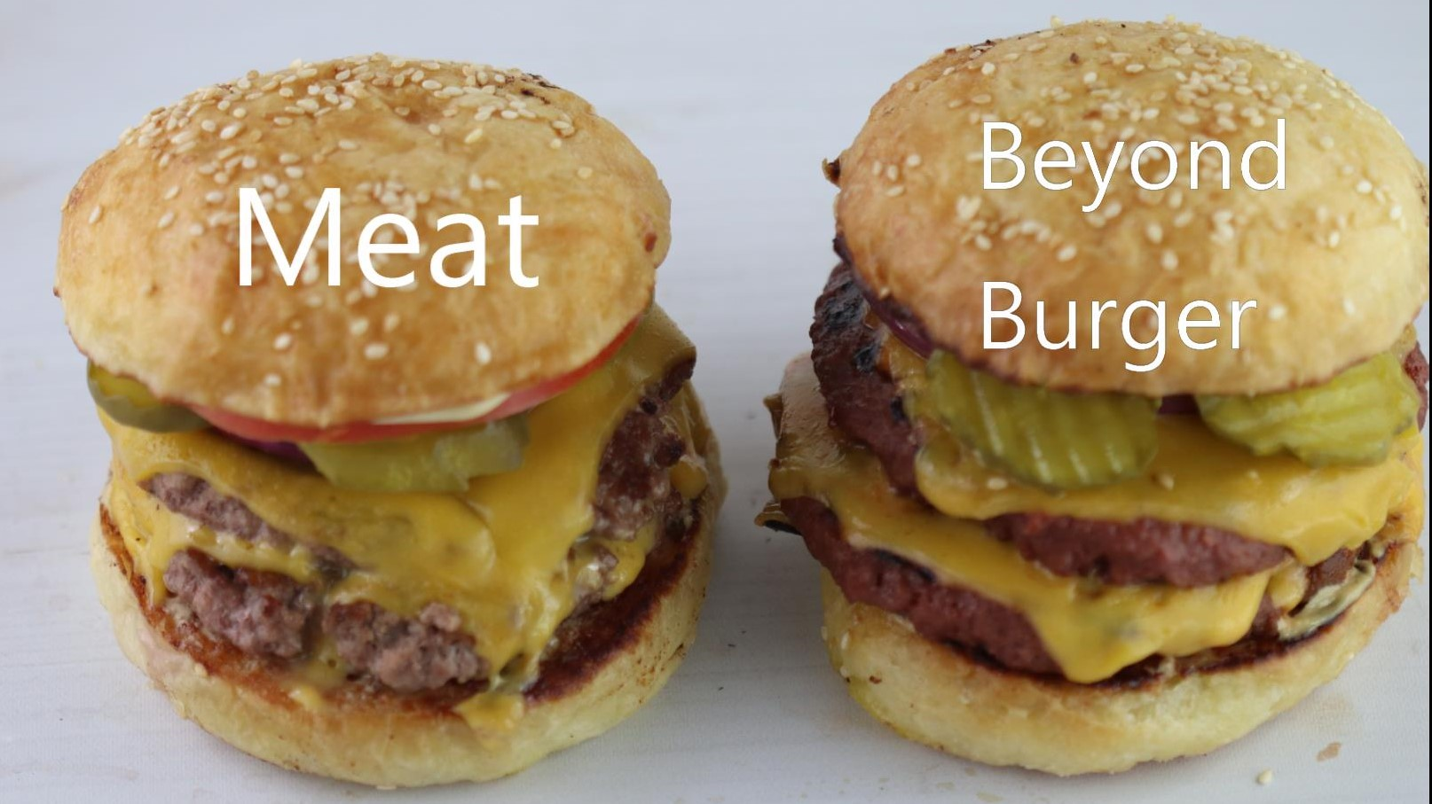 Double Cheeseburger – Meat vs. Beyond recipe