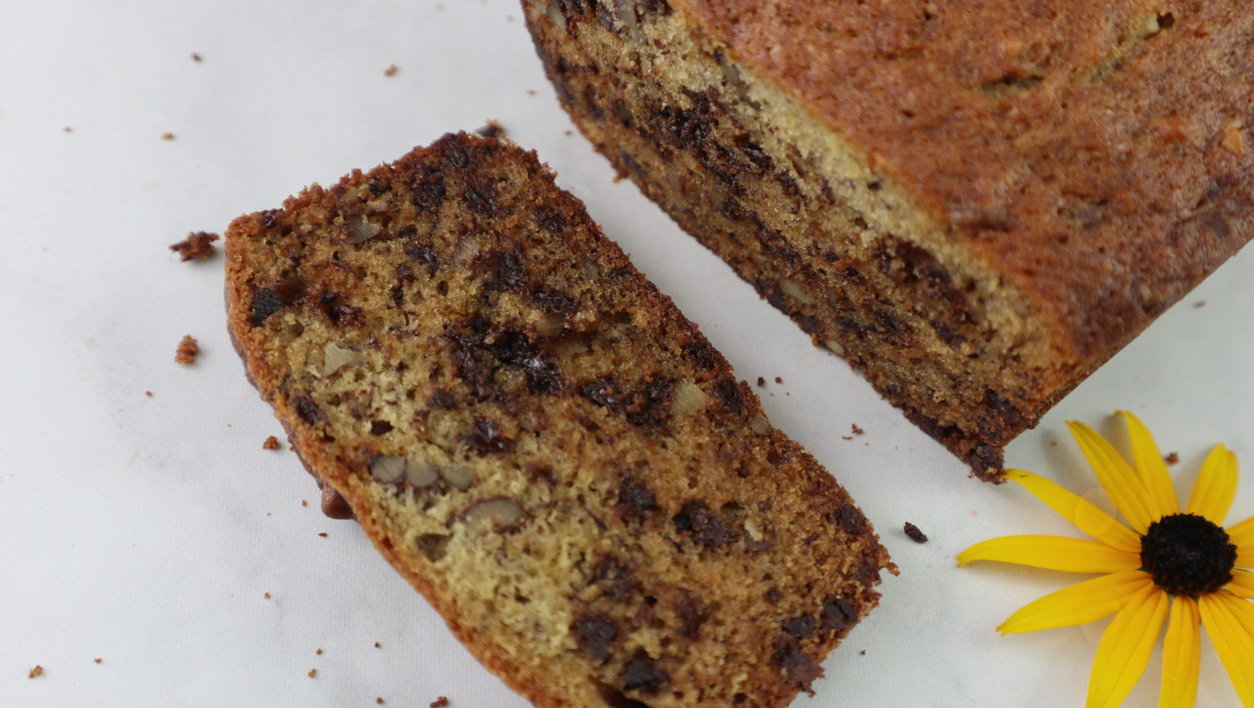 Banana Nut Bread with Chocolate Chips