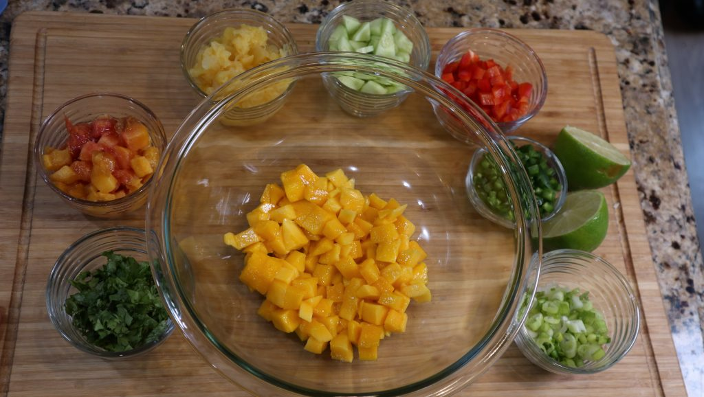 tropical salsa ingredients