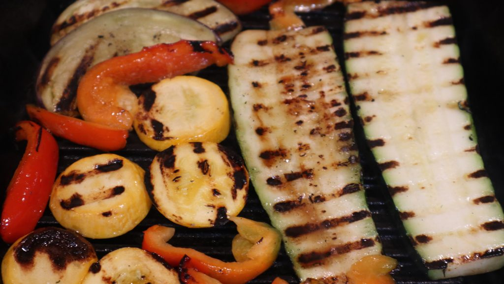 grilled vegetables without a BBQ.