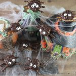 Edible Halloween Spiders