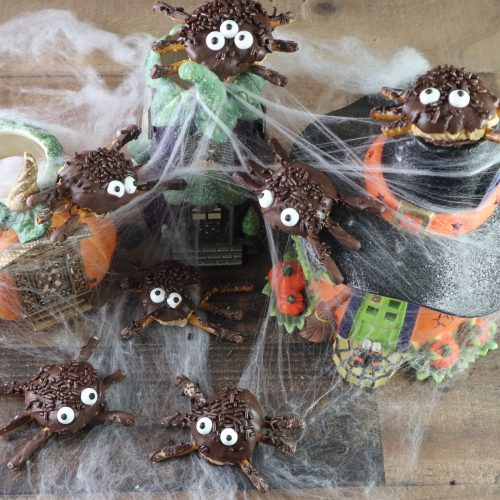 edible spiders for halloween