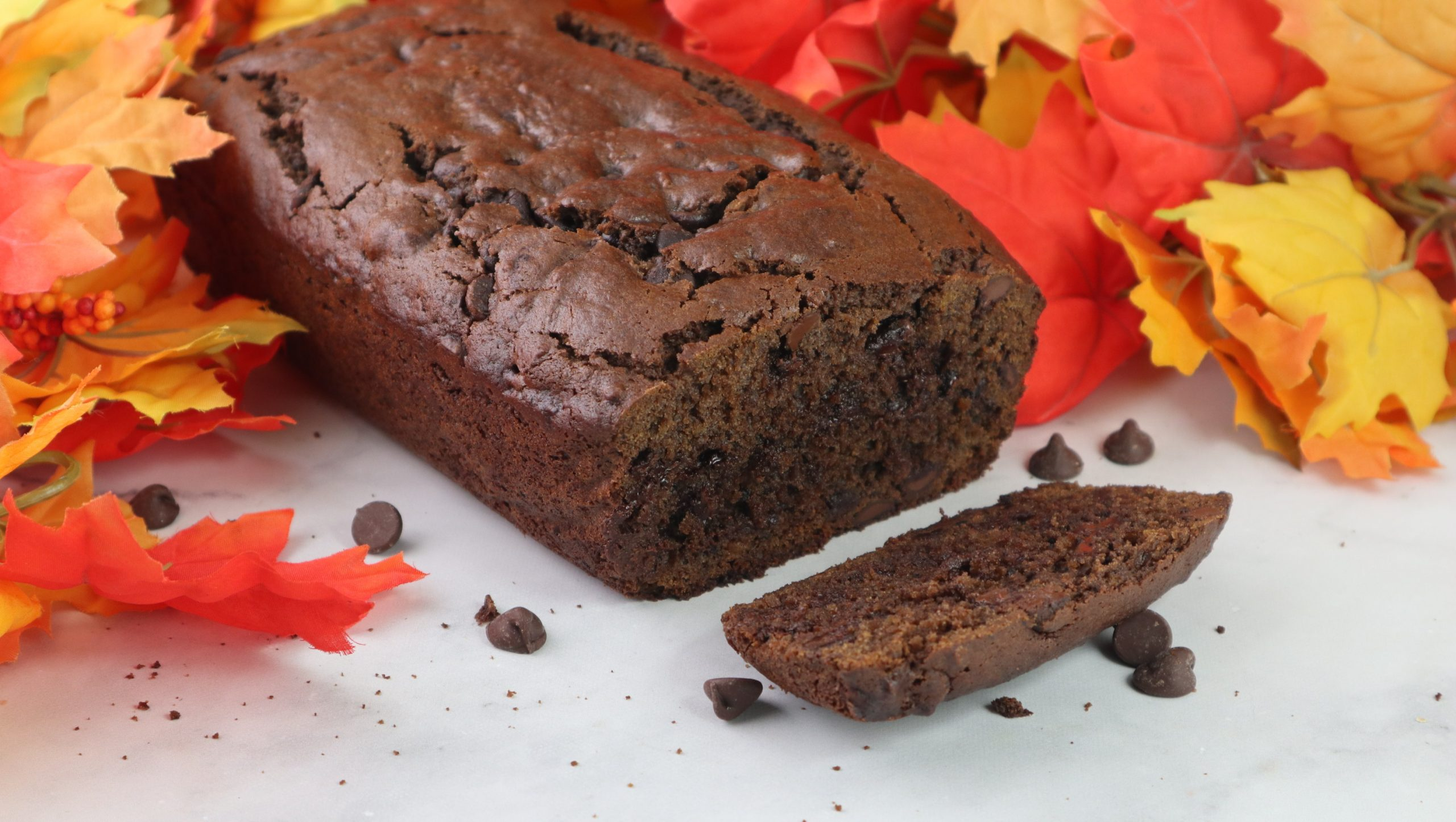 buttternut squash bread with chocolate