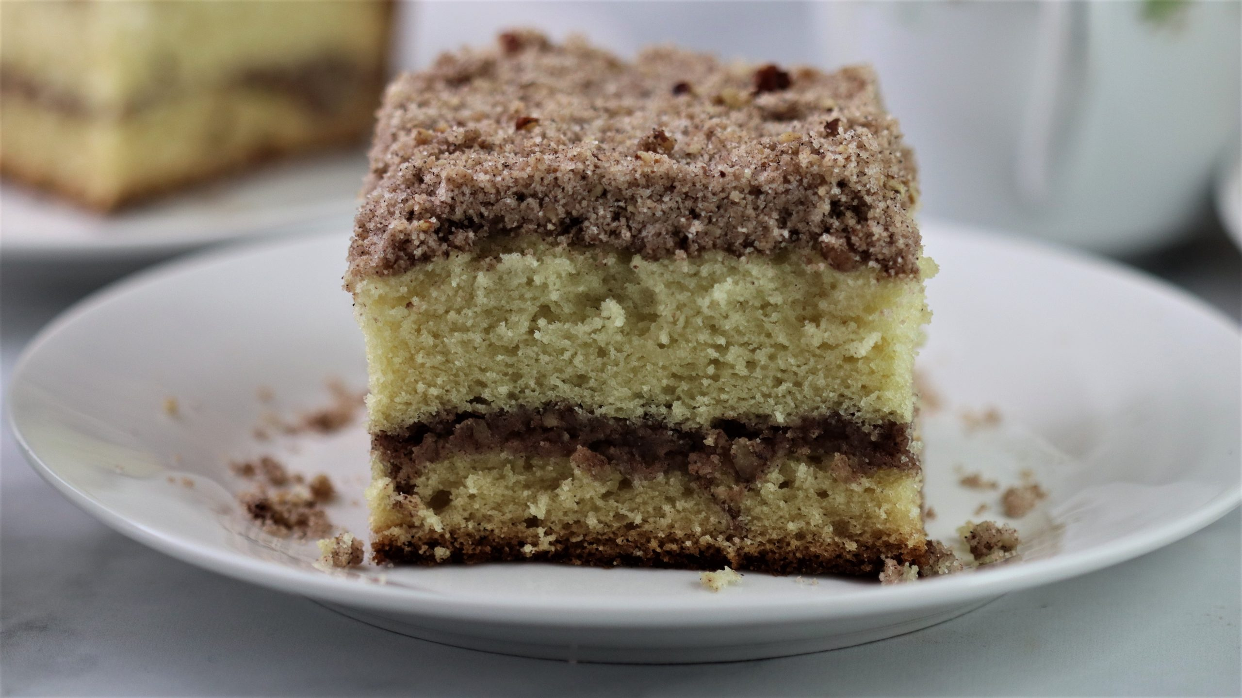 You are currently viewing Cinnamon Streusel Coffee Cake