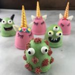 Hot Cocoa Bombs – Unicorn and Monster