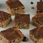 Chocolate Caramel Crunch Bars – gluten-free