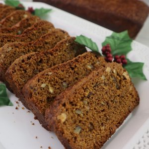 Holiday Pumpkin Bread-Vegan