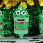 Breakfast Monster Parfait – St. Patrick's Day