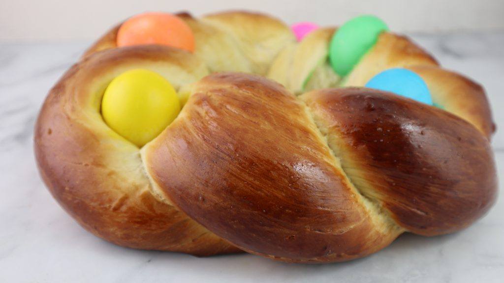 Easter Egg Braid
