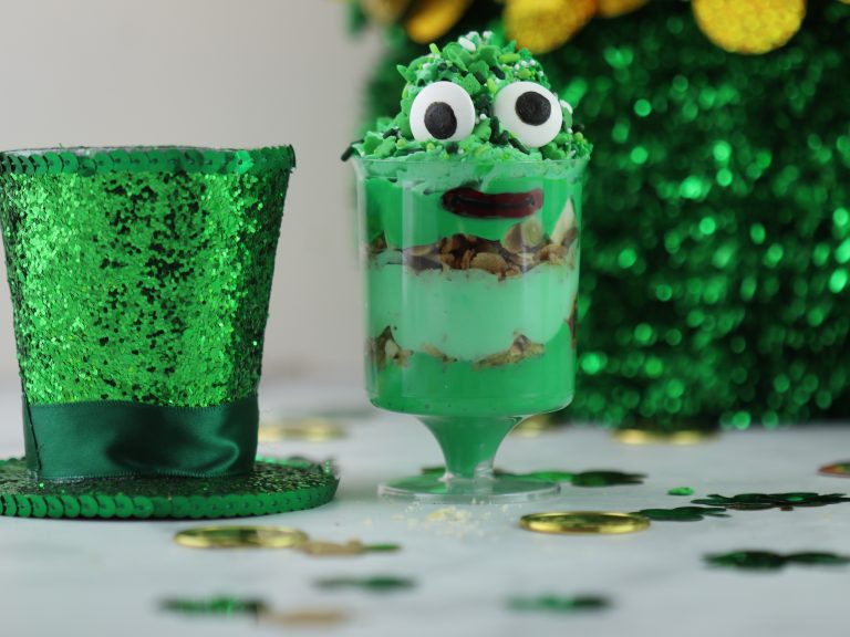 St. Patrick's Day - Monster Parfait with decorations