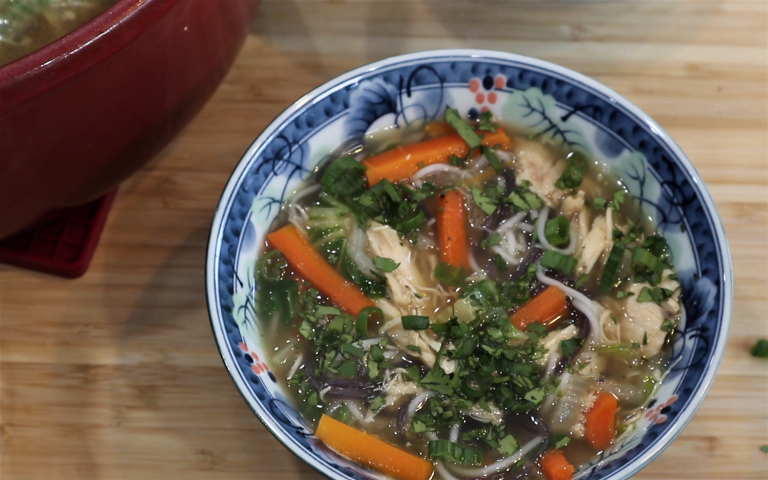 Chicken Pho Soup Bowl