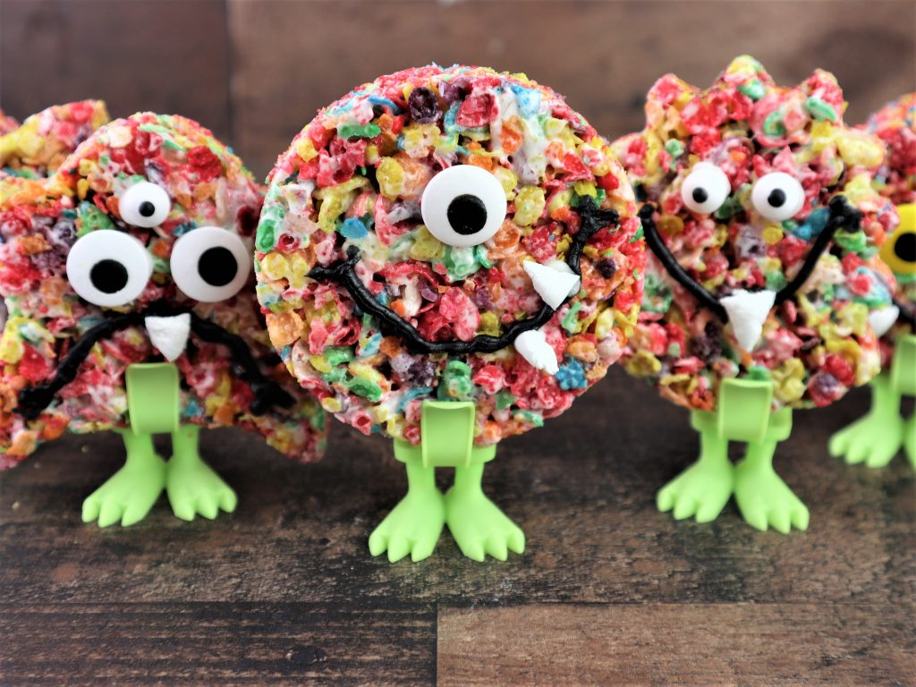 fruity cereal monster treats