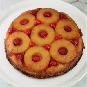 Pineapple Upside Down Cake – with a twist
